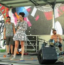 Band at Block Party