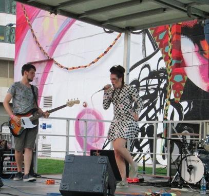 Band at Dewey Square Park Block Party