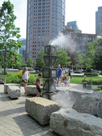 Harbor Fog sculpture