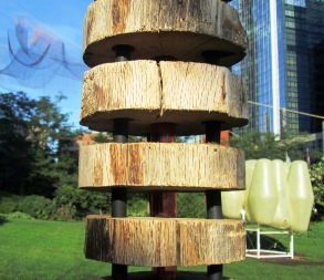 glimpses of Design Biennial installations