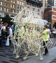 one of two strandbeests