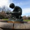 Boy and Bird Fountain by Bashka Paeff