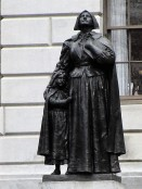 (unveiled 1915), dedicated 1922) Anne Hutchinson by Cyrus Edwin Dallin