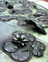 bronze creatures and plants
