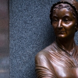 Abigail Adams in Boston Women's Memorial by Meredith Bergmann