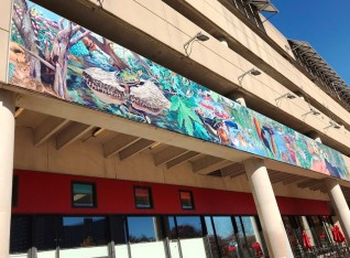 Alewife Reservation Mural Project, Cambridge