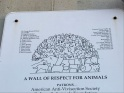 WALL OF RESPECT FOR ANIMALS