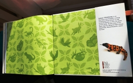 End papers back flap
